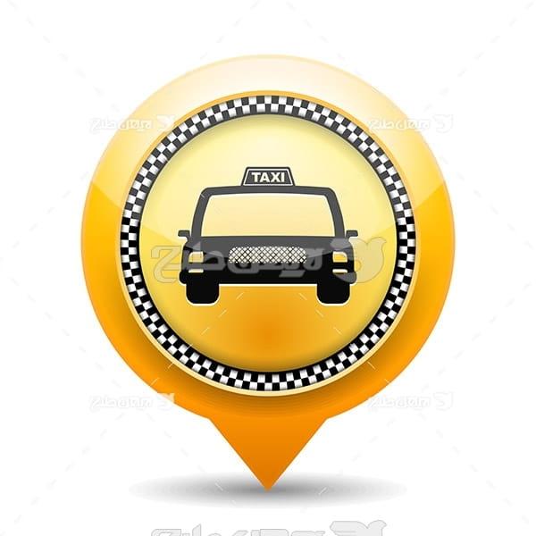 وکتور لوگو تاکسی