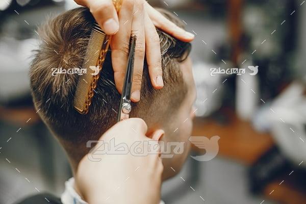 عکس مدل آرایشگری آقا