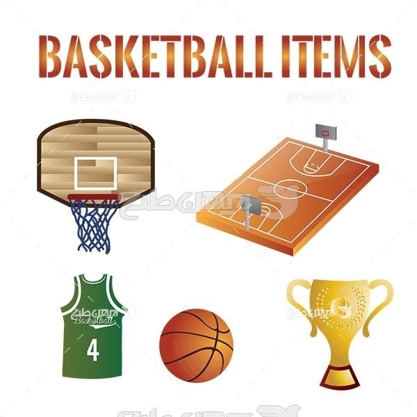 وکتور ورزش بسکتبال