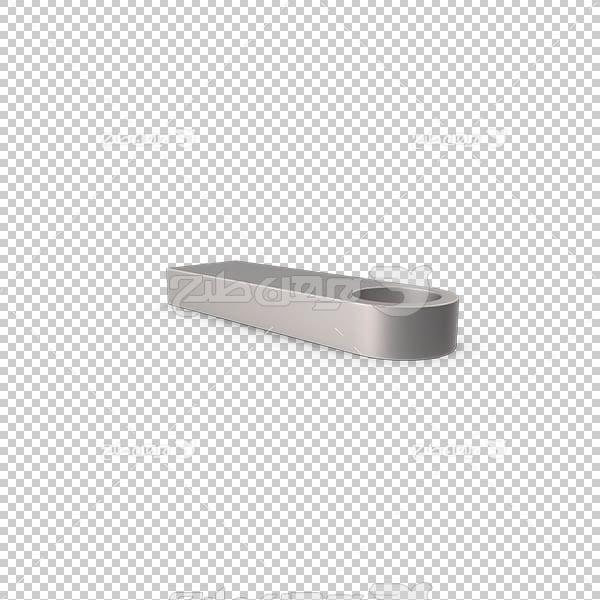 تصویر سه بعدی دوربری فلز و آهن