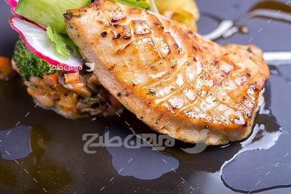 گوشت ماهی کباب