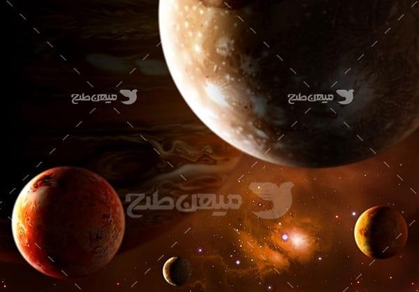 عکس سیاره