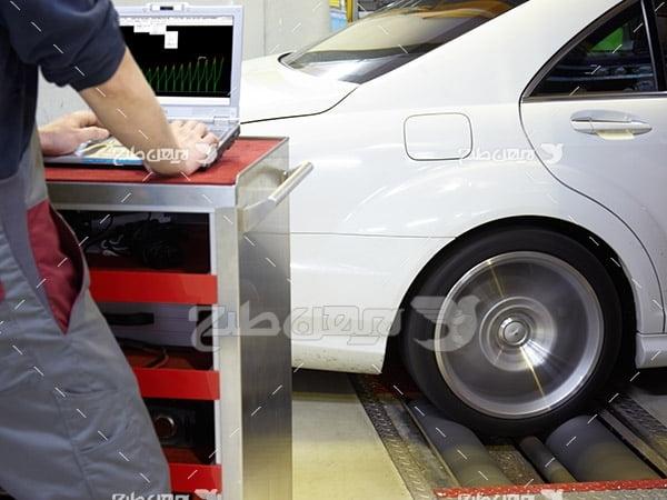 تنظیم موتور ماشین و بالانس لاستیک