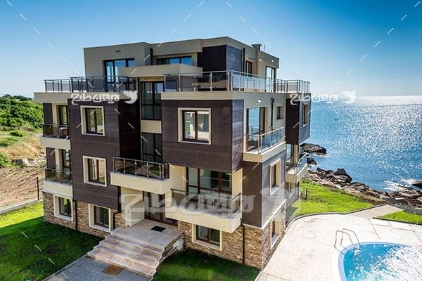 عکس خانه چند طبقه