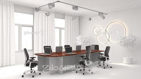 عکس اتاق اداری و کنفراس