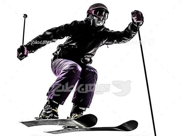 عکس ورزشی اسکی رو برف