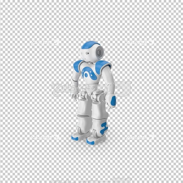 تصویر دور بری سه بعدی آدم آهنی