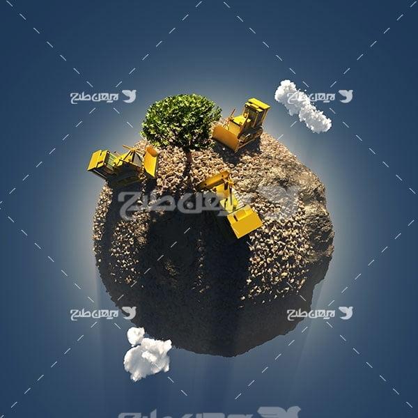 عکس کشاورزی در کره زمین