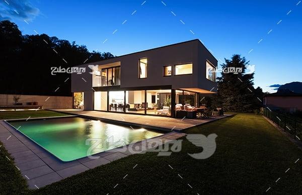 عکس خانه ی ویلایی
