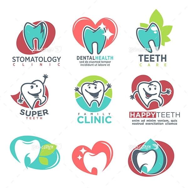 لوگو دندان و دندان پزشکی