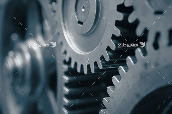 تصویر صنعتی چرخ دنده