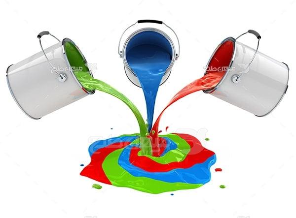 عکس نماد رنگ چاپ و تبلیغات RGB