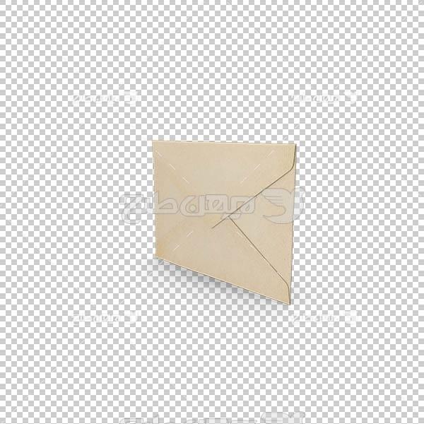 تصویر سه بعدی دوربری پاکت نامه