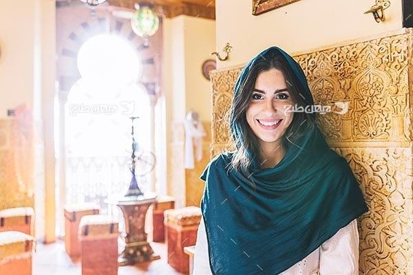 تصویر با کیفیت از زن مسلمان
