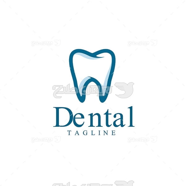 وکتور لوگوی دندان
