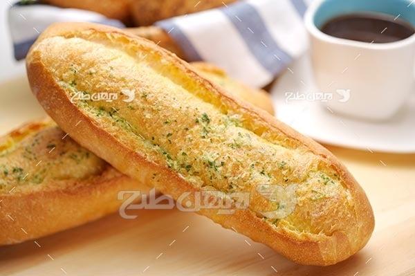 تصویر با کیفیت از نان