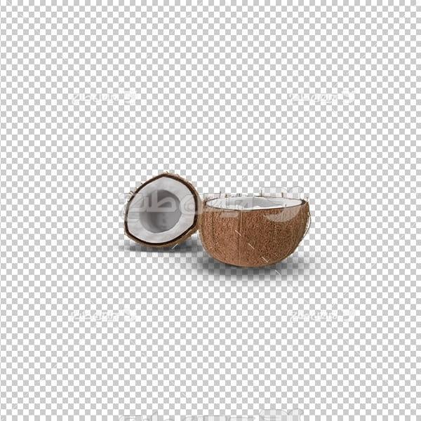 تصویر دوربری سه بعدی نارگیل