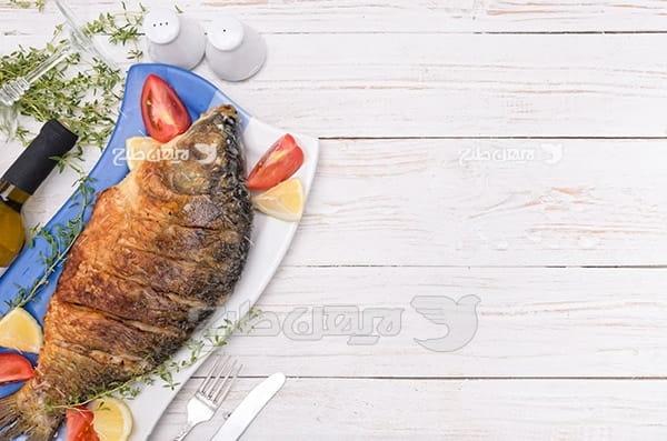 عکس غذای ماهی