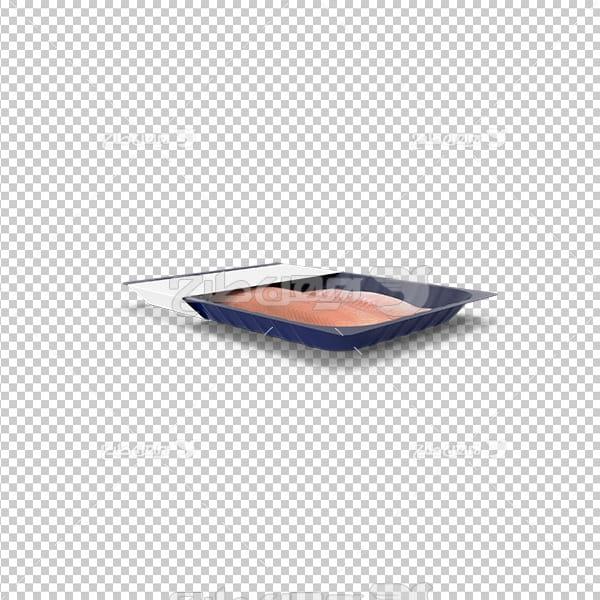 تصویر دوربری سه بعدی گوشت