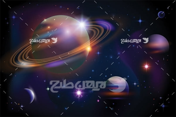 وکتور سیارات منظومه شمسی