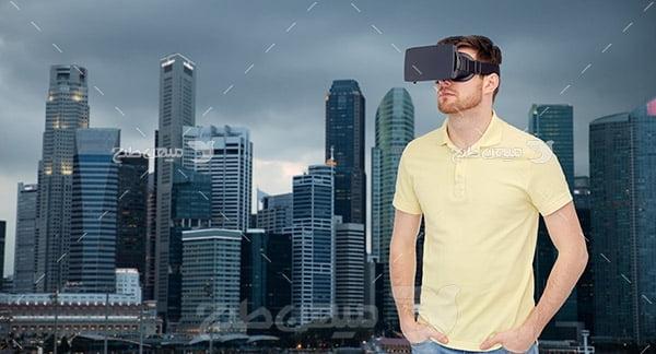 دستگاه واقعیت مجازی و ربات