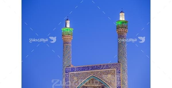 عکس مسجد شاه عباسی ، اصفهان