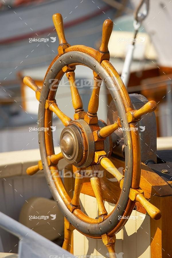 عکس فرمان کشتی