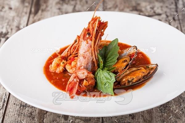 مواد غذایی دریایی