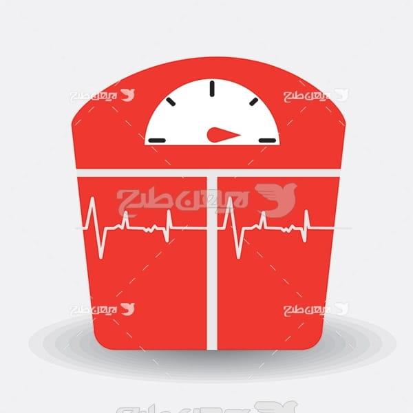 وکتور دستگاه فشار خون