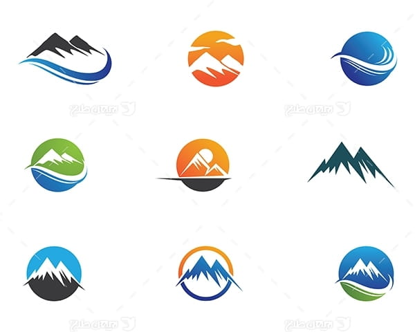 لوگو کوهستان و کوه