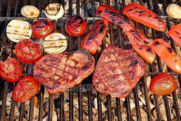 عکس گوشت کبابی