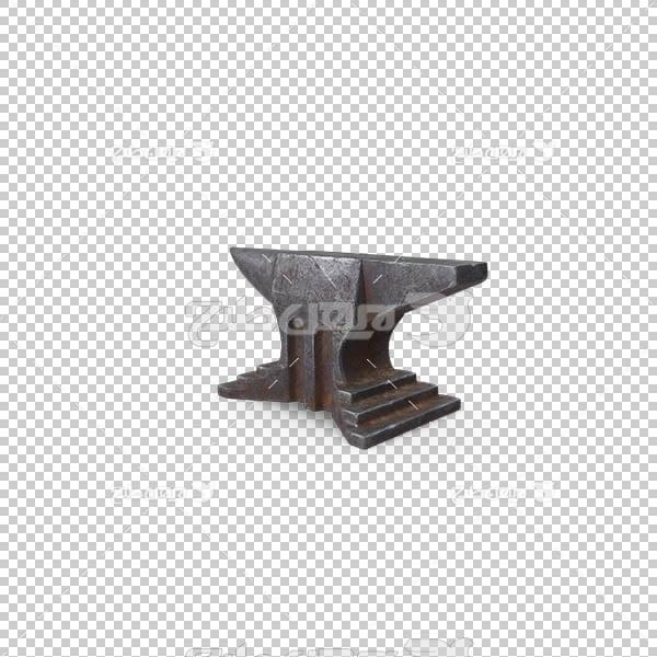 تصویر سه بعدی دوربری آهن و فلز