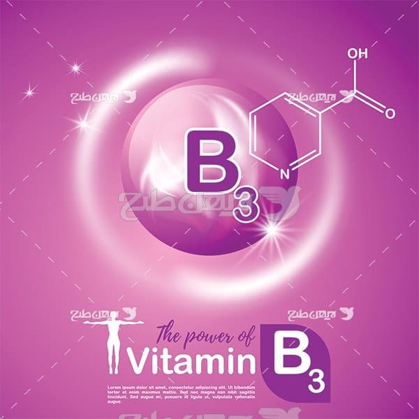 وکتور ویتامین ب 3