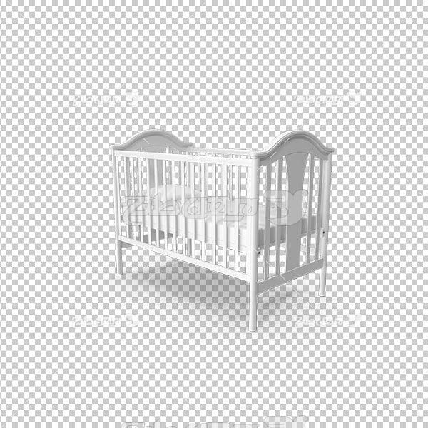 تصویر دوربری تخت خواب کودک