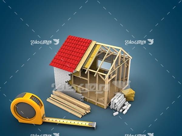عکس ساختمان سازی