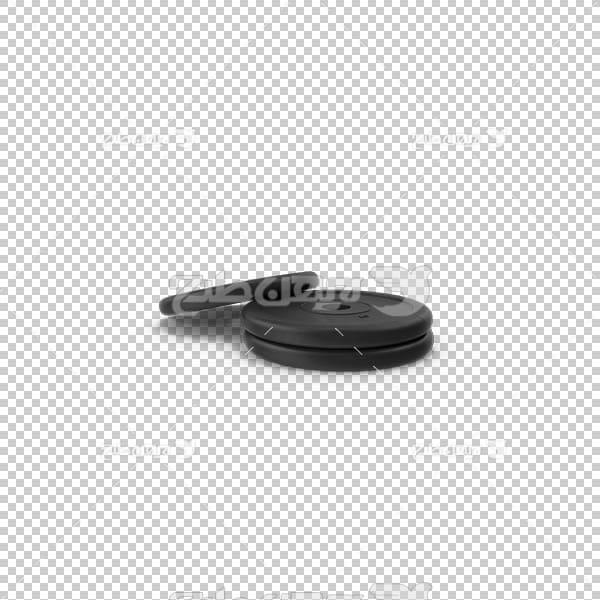 تصویر سه بعدی دوربری وزنه بدنسازی