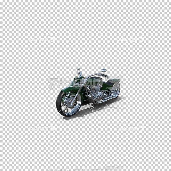 تصویر دوربری سه بعدی موتورسیکلت