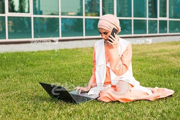 عکس دختر با حجاب