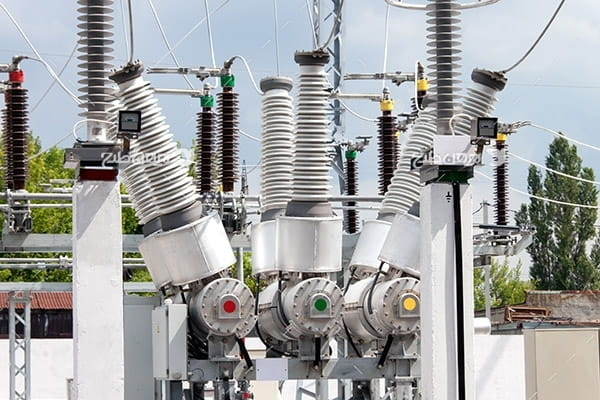تصویر صنعتی از نیروگاه برق