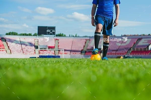 تصویر با کیفیت فوتبال