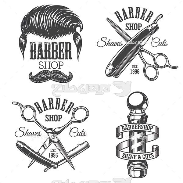 وکتور لوازم آرایشگری مردانه