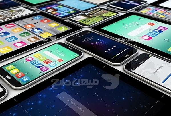 عکس موبایل و تبلت