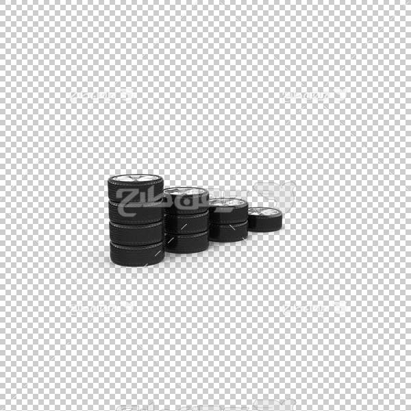 تصویر سه بعدی دوربری لاستیک