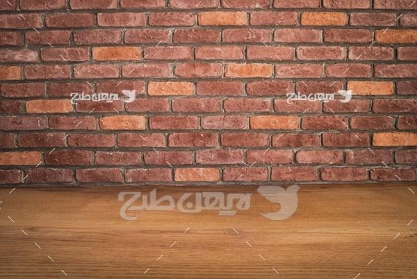 بک گراند دیوار آجری