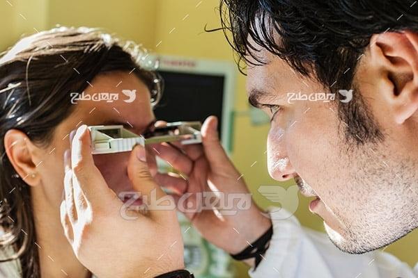 عکس چشم پزشکی