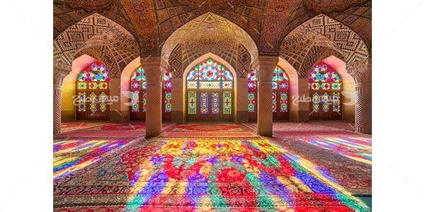 عکس مسجد نصیرالملک ، شیراز