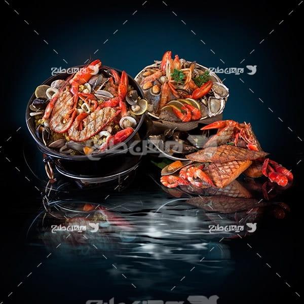 عکس غذاهای دریایی