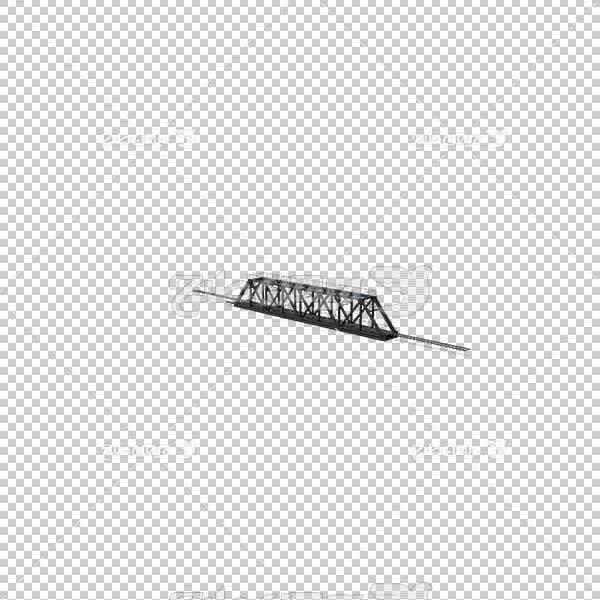 تصویر سه بعدی دوربری پل آهنی