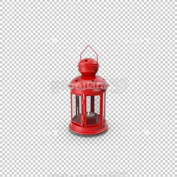 تصویر سه بعدی دوربری فانوس قرمز