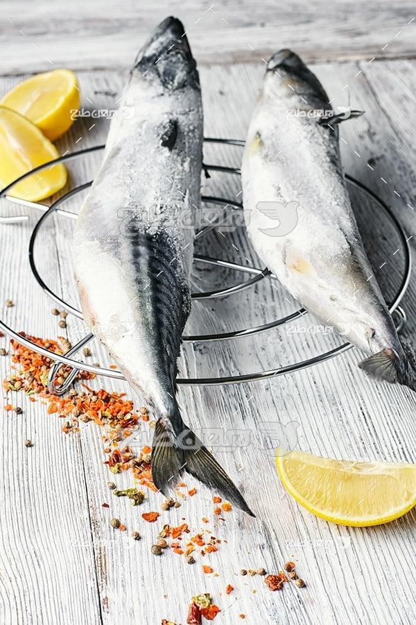 ماهی،گوشت ماهی,غذای ماهی لیمو